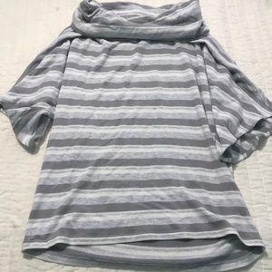 Lou & Grey LOFT crawl neck shirt